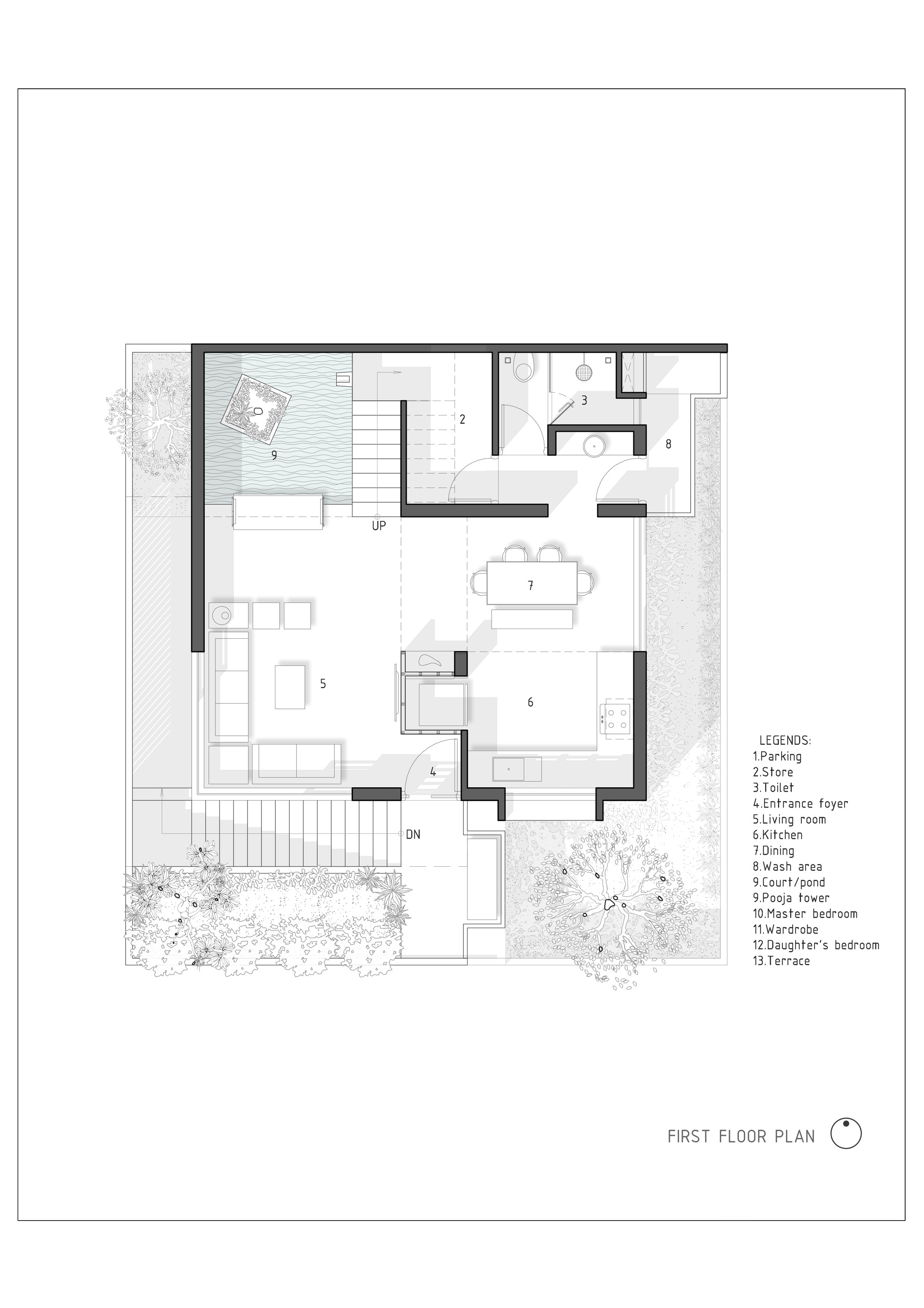 5a14e339b22e381ec7000020 the h cube house studio lagom first floor plan