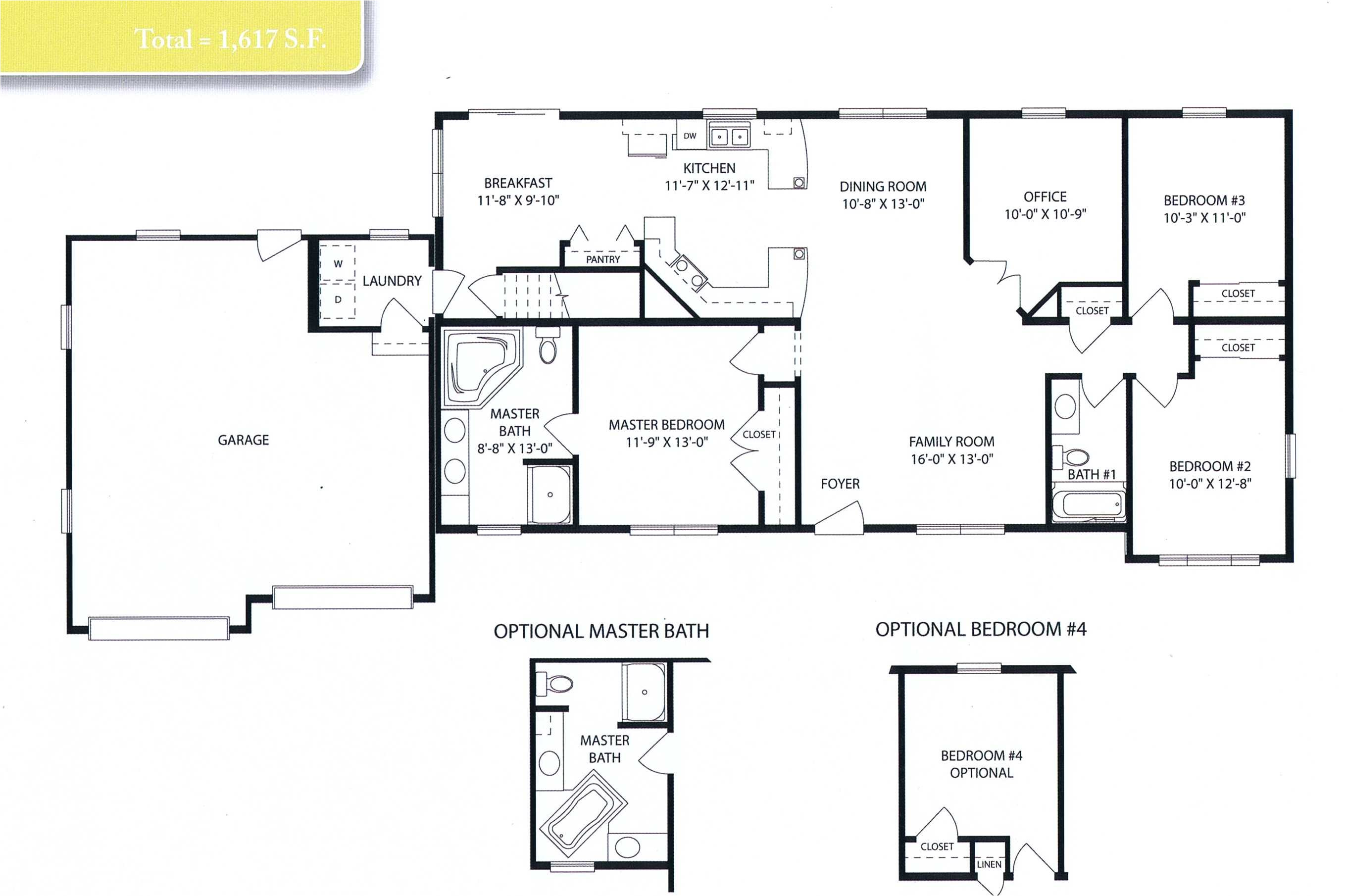 mobile homes open floor plans