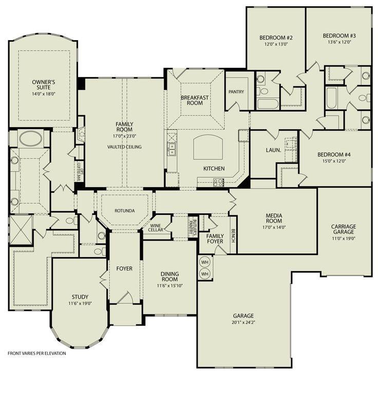 custom built homes floor plans