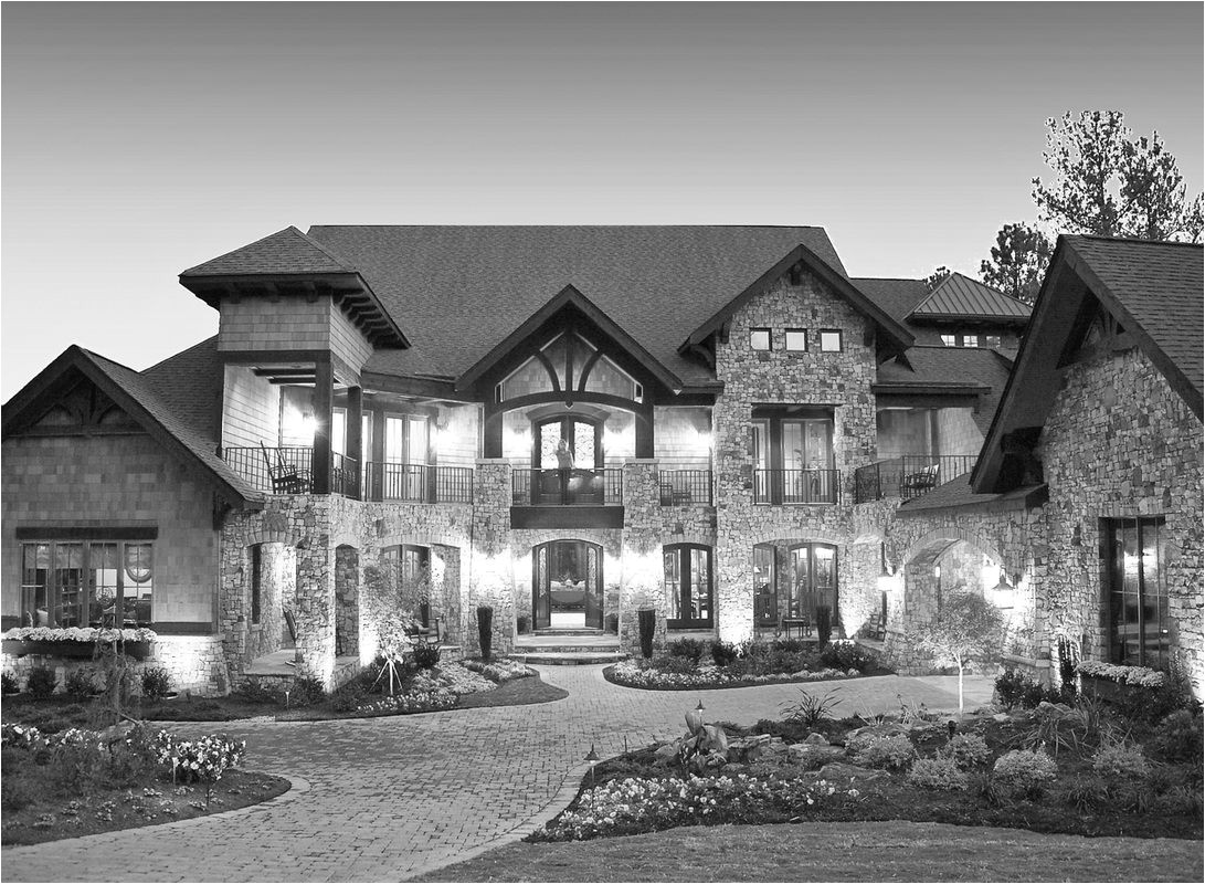 custom french country house plans