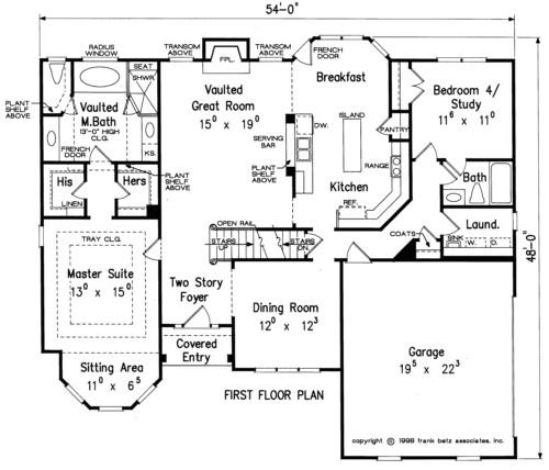 Custom Homes by Jeff Floor Plans J David Lee Builders Custom Homes Sullivan