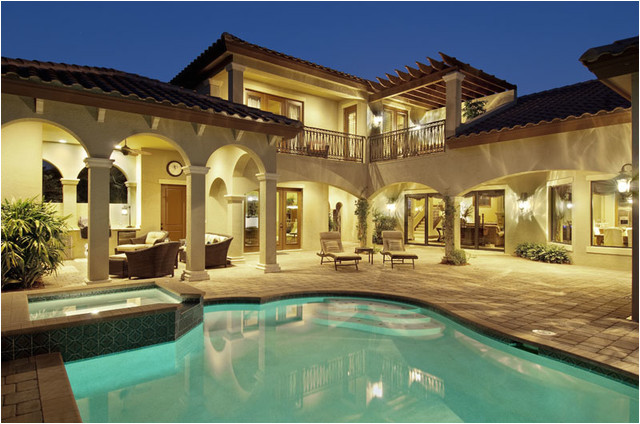 sater design homes mediterranean pool miami