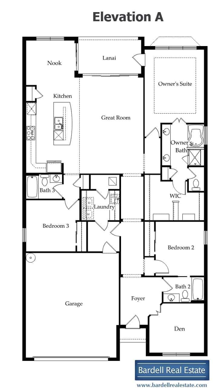 del webb davenport florida classic floor plans