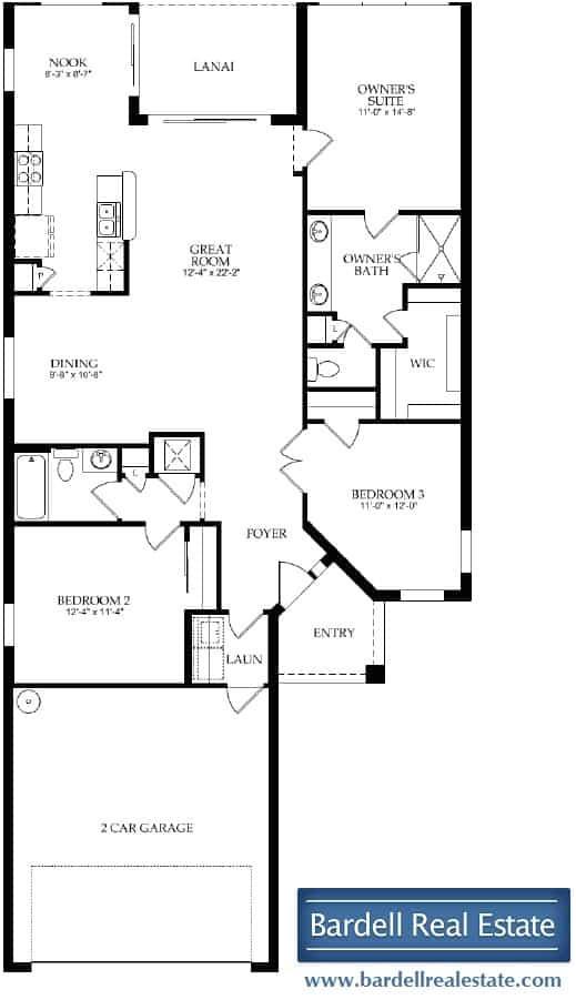 del webb orlando davenport florida generation one floor plans