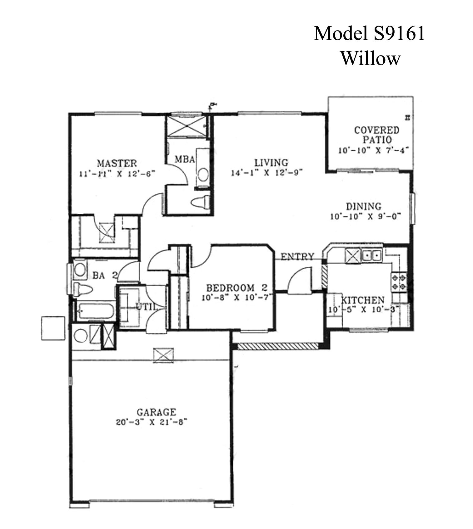 kaufmann desert house floor plan