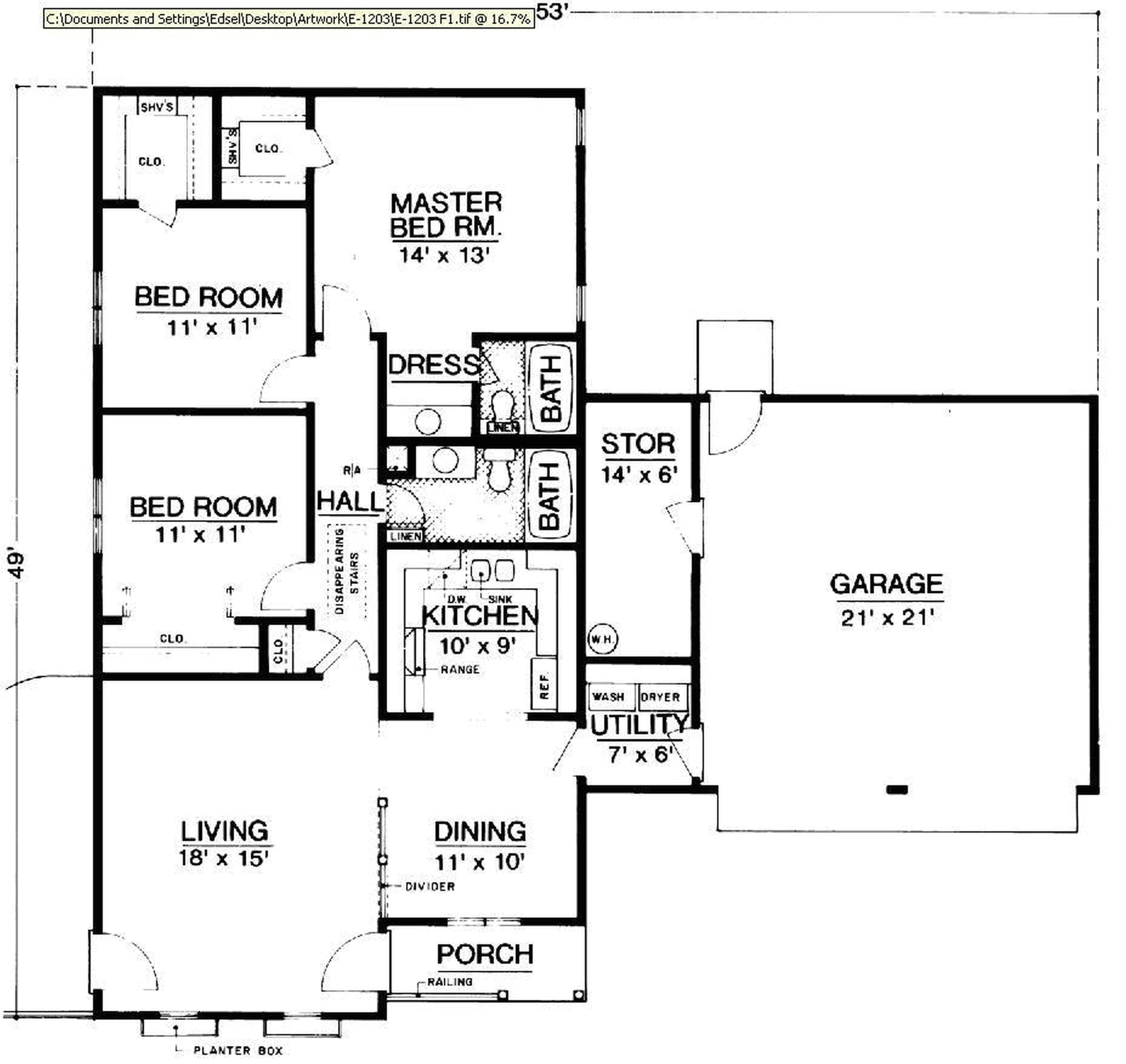 small desert house plans
