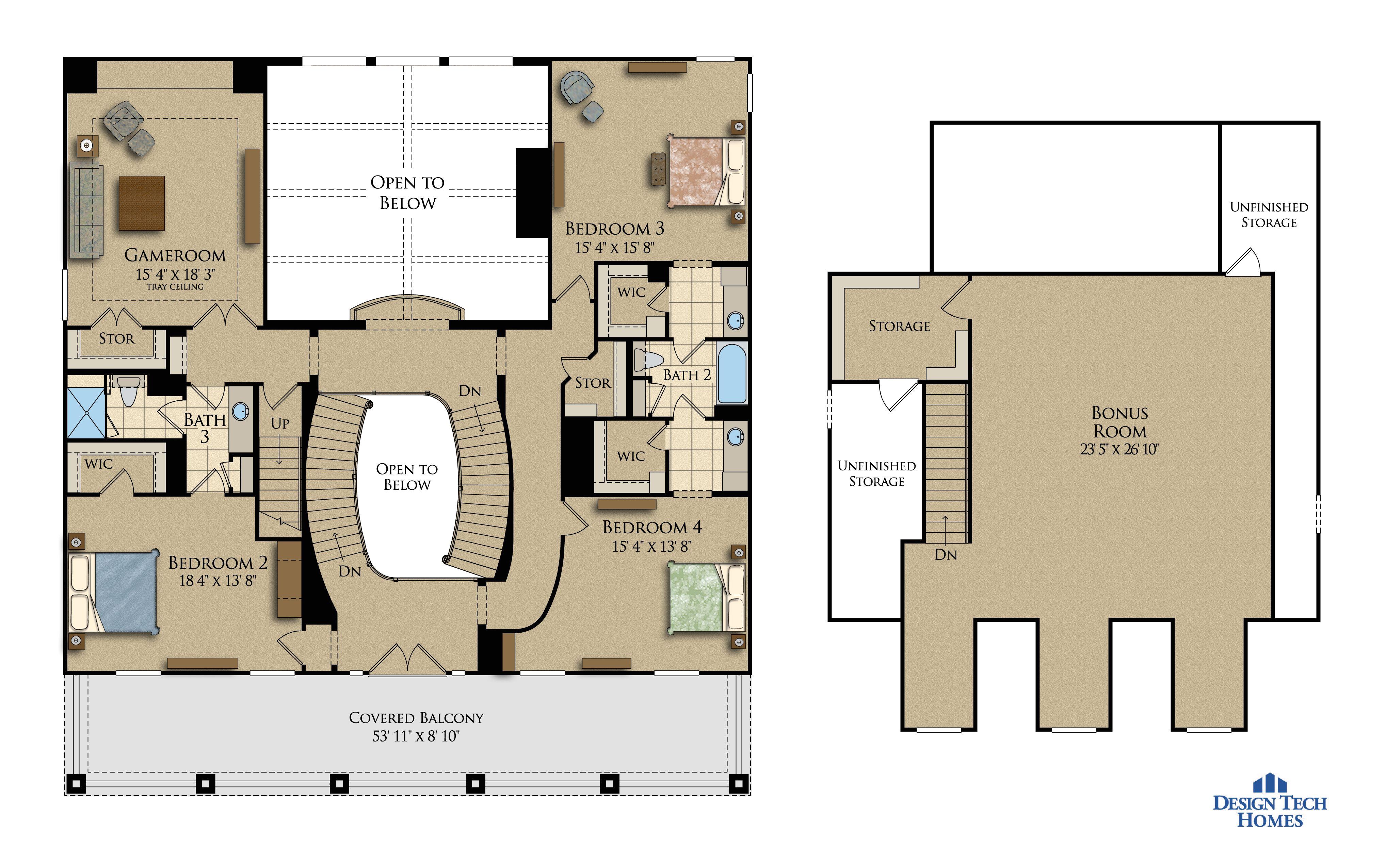 design tech homes floor plans