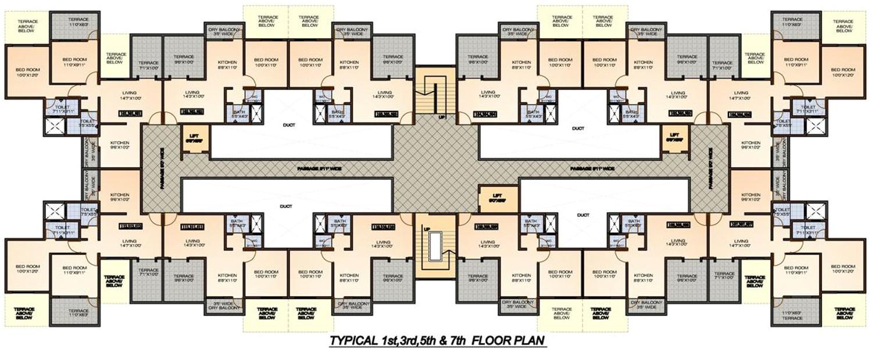 2bhk 2t 994 sqft apartment