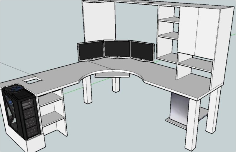 Diy Computer Desk Plans Home 20 top Diy Computer Desk Plans that Really Work for Your