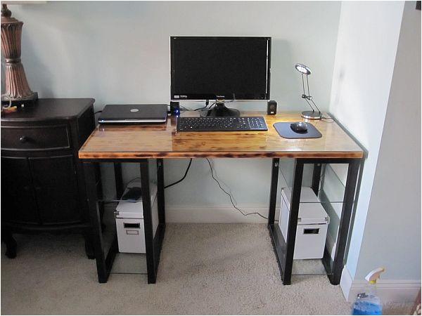 diy computer desk plans home