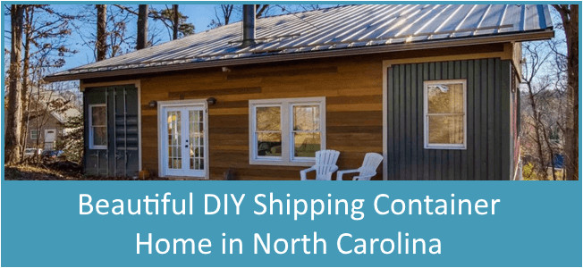 diy family shipping container home