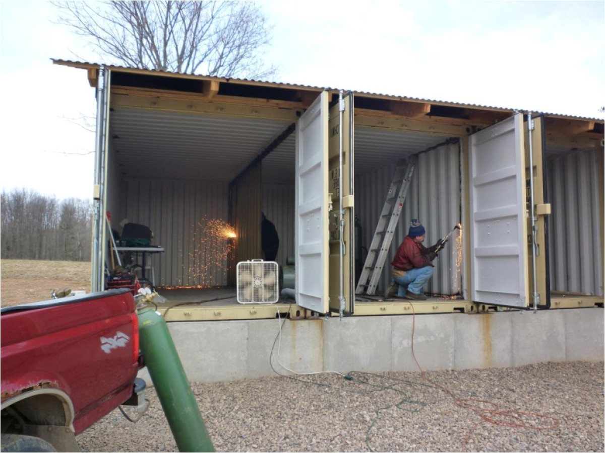 diy shipping container homes