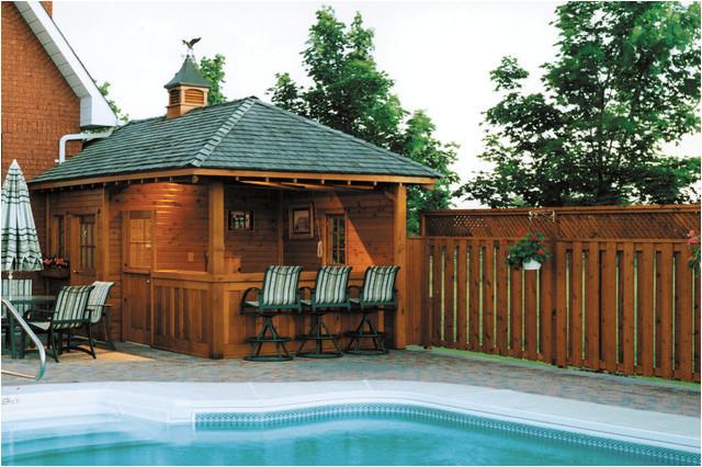 pool cabanas traditional pool toronto