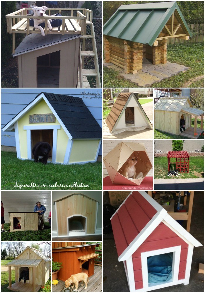 20 brilliant diy dog houses to shelter your furry friends