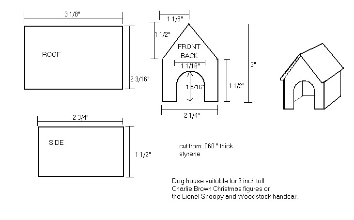 how to make snoopy dog house out of