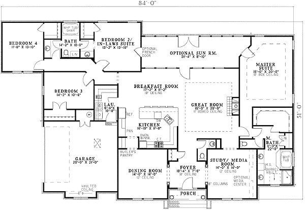 house plans with two master bedrooms