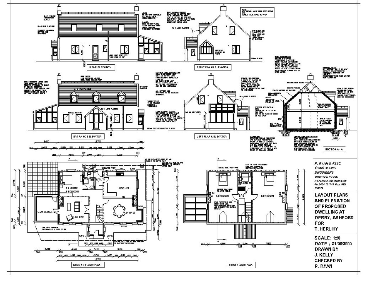 house drawing plans