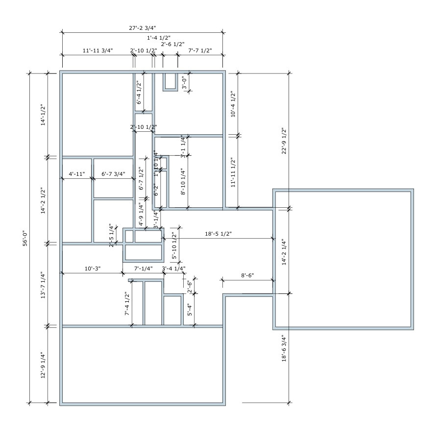 draw house floor plans sketchup