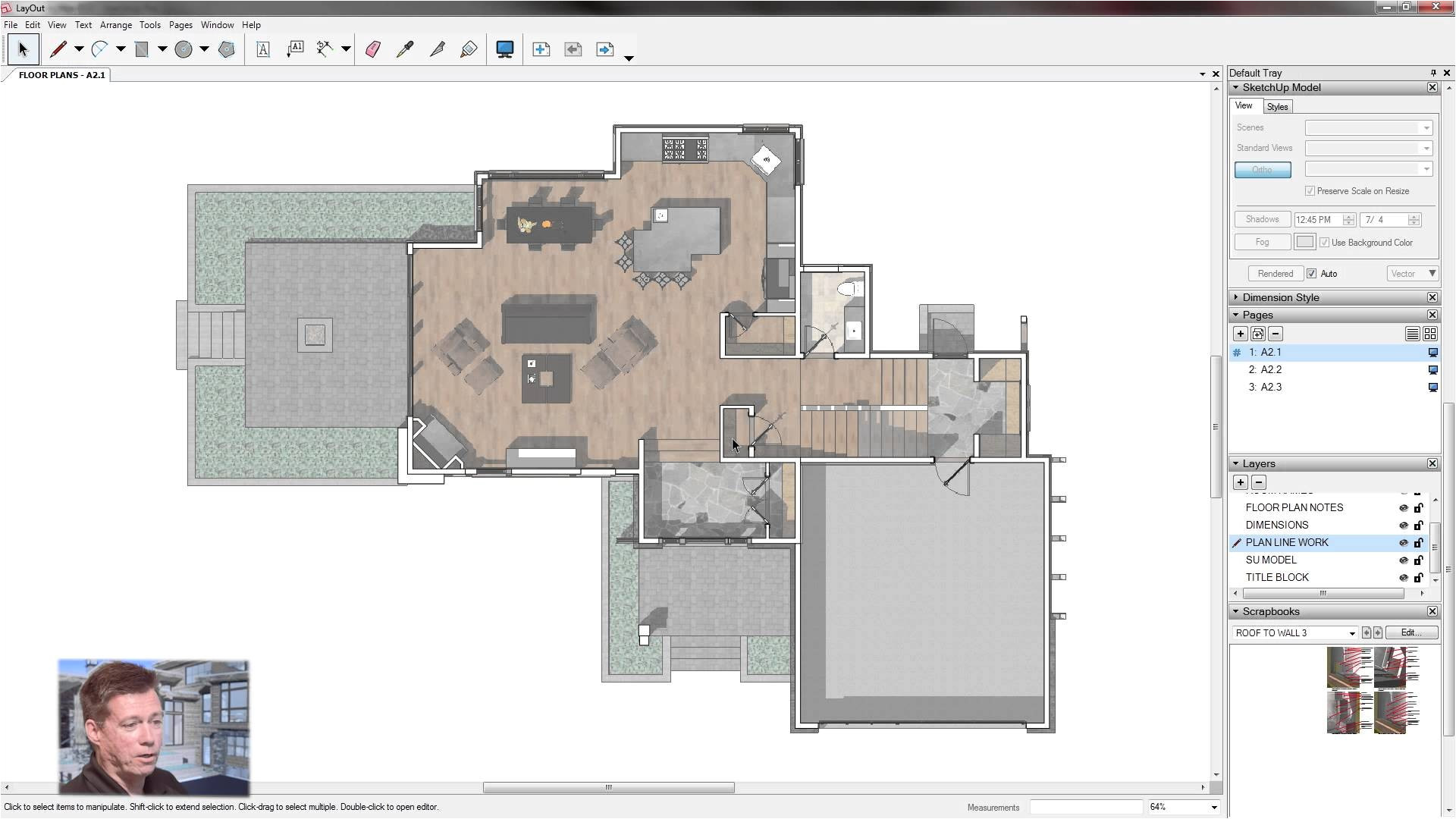 drawing house plans in google sketchup