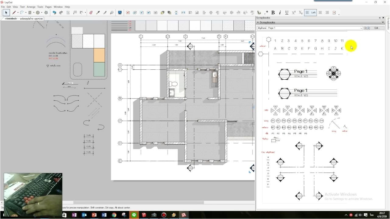how to draw floor plans in google sketchup fresh 06 sketchup layout construction documents annotations