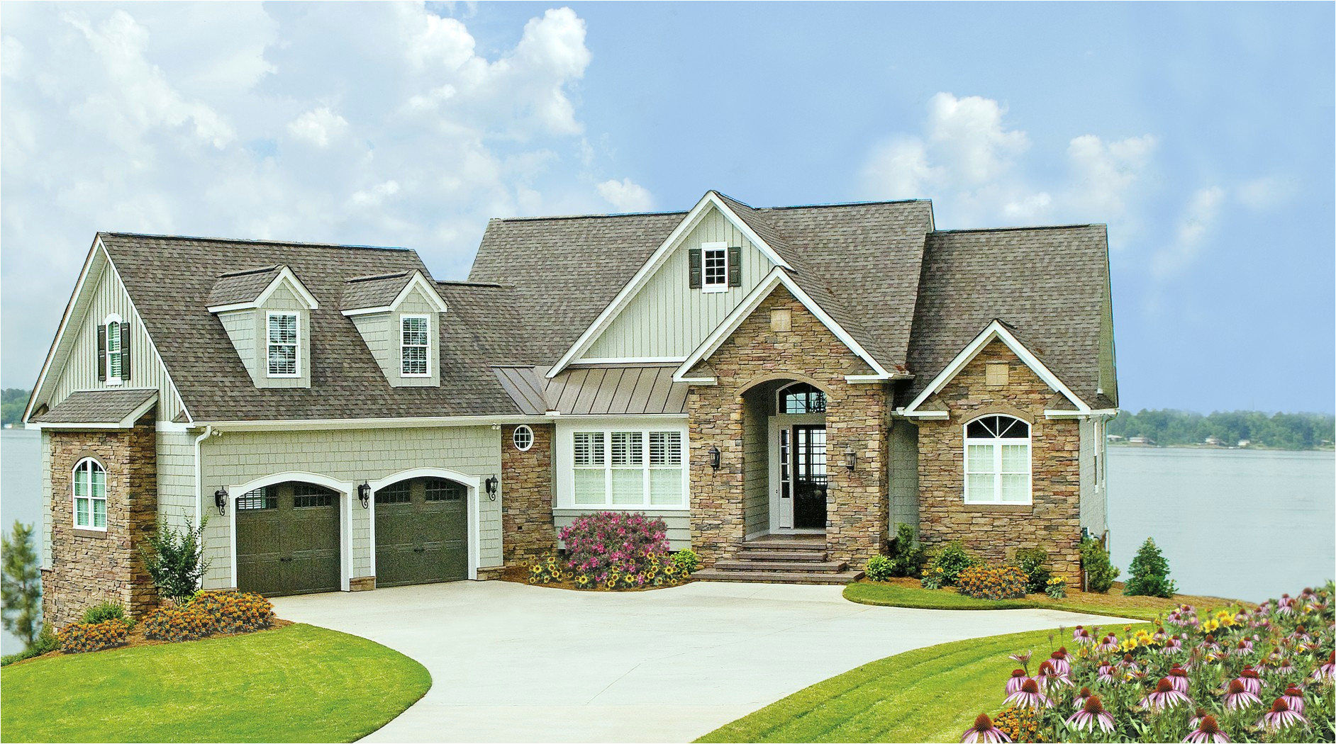 dream home plans one story new house dream home house plans