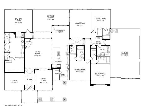 drees custom homes floor plans