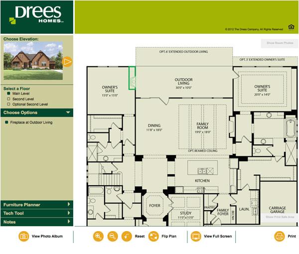 drees homes floor plans