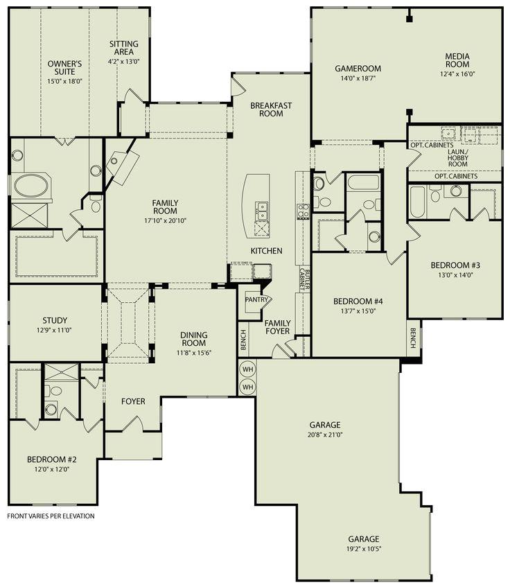 Drees Custom Homes Floor Plans Lauren Iii 125 Drees Homes Interactive Floor Plans