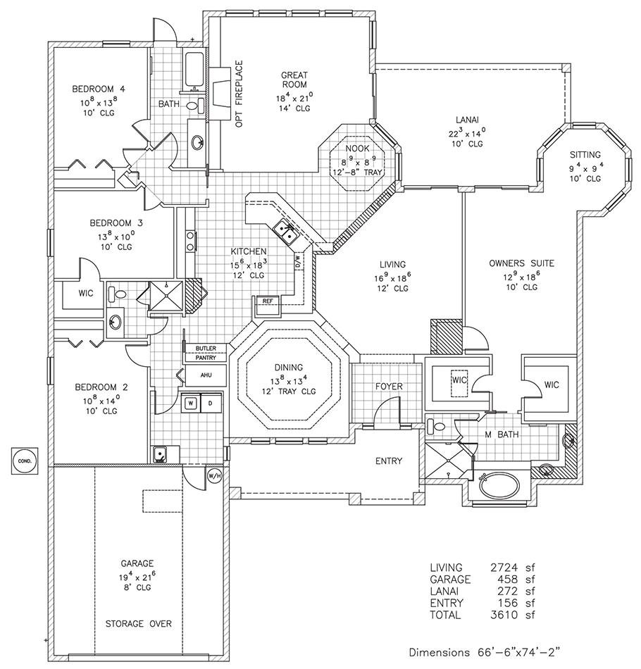 odyssey new home floor plan