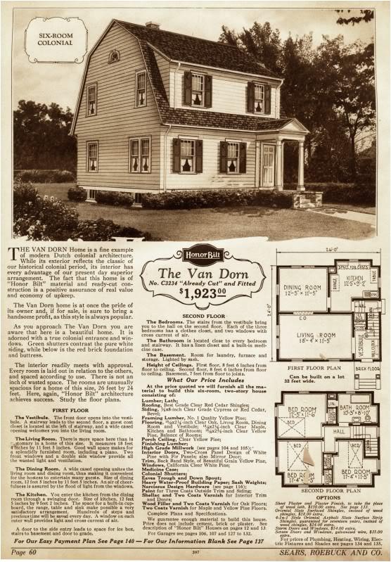 1920 s dutch colonial floor plan