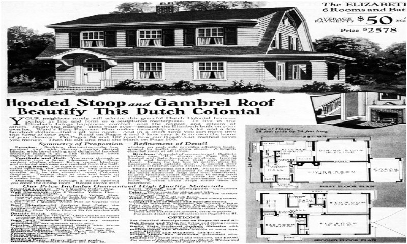Dutch Colonial House Plans 1930 1930 Dutch Colonial Home Floor Plans Tudor Style