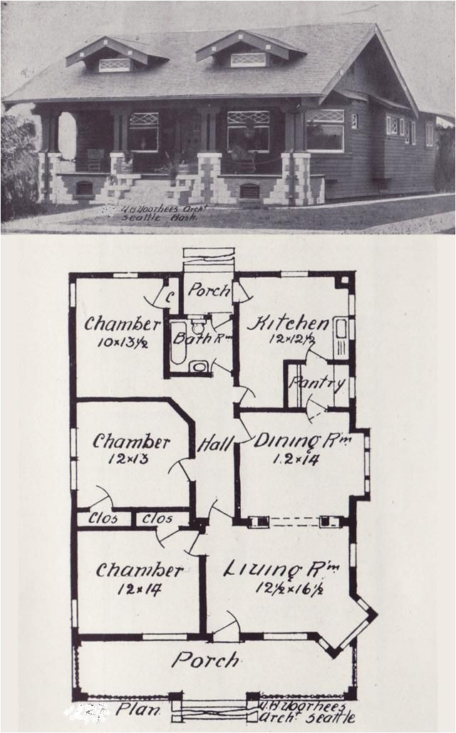 early 1900 house plans