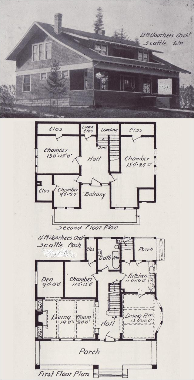 early 1900 s home plans