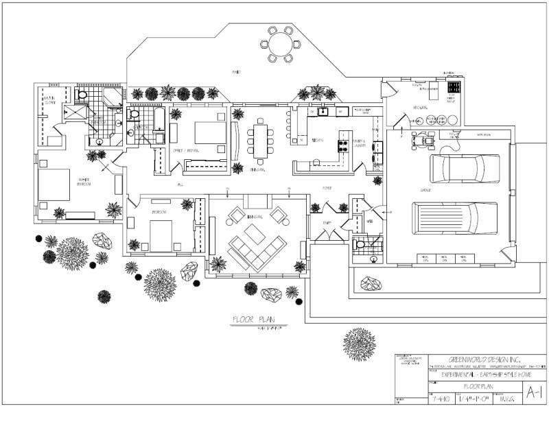 earthship homes plans