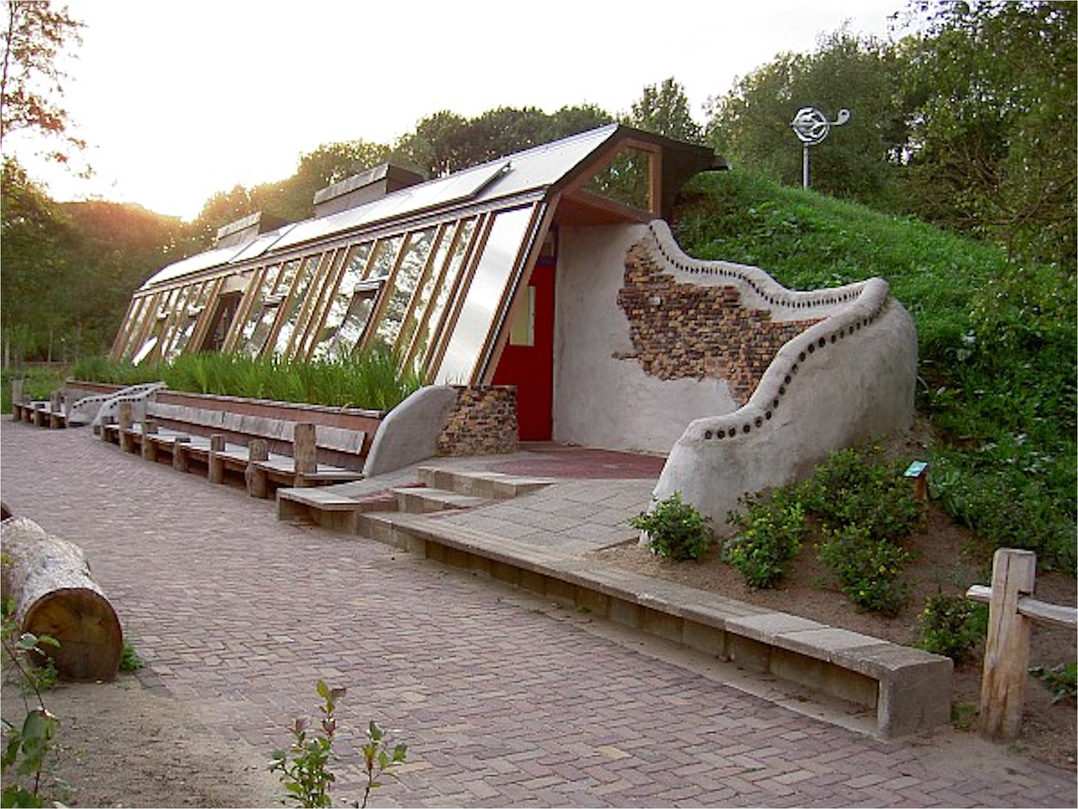 this guy created a step by step guide to creating your own earthship