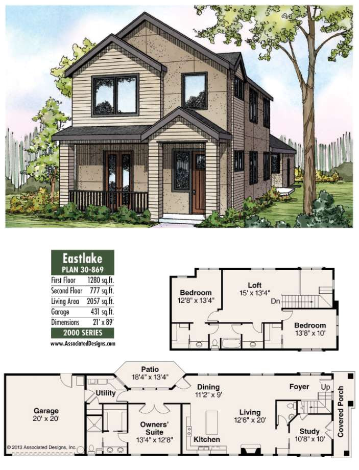 house plans eastlake is bigger than it looks 4503453