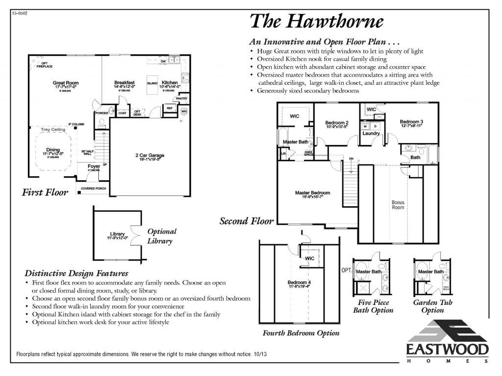 eastwood homes cypress floor plan