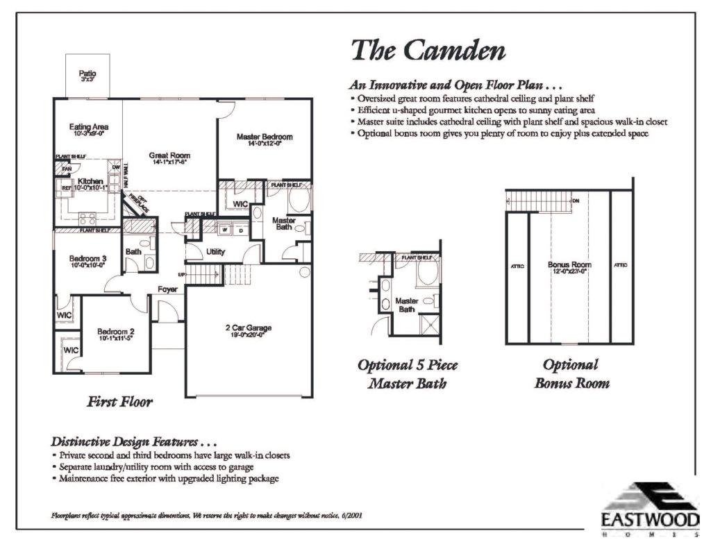 Eastwood Homes Ellerbe Floor Plan Eastwood Homes Cypress Floor Plan