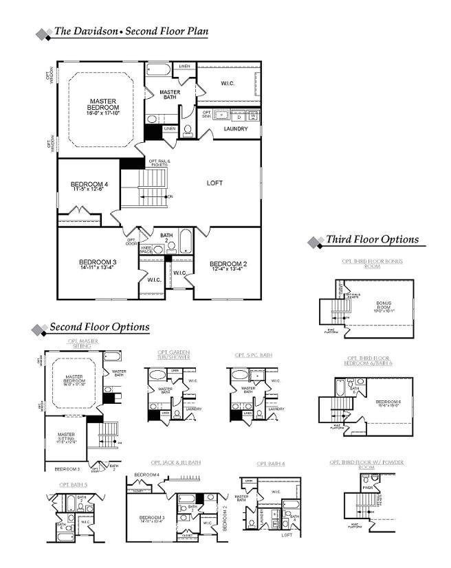 Eastwood Homes Ellerbe Floor Plan Eastwood Homes Davidson Floor Plan