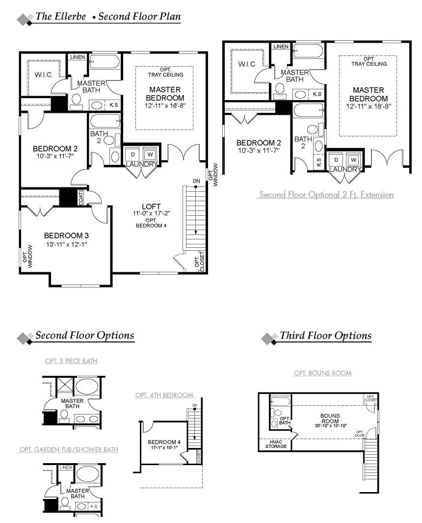 eastwood homes ellerbe floor plan