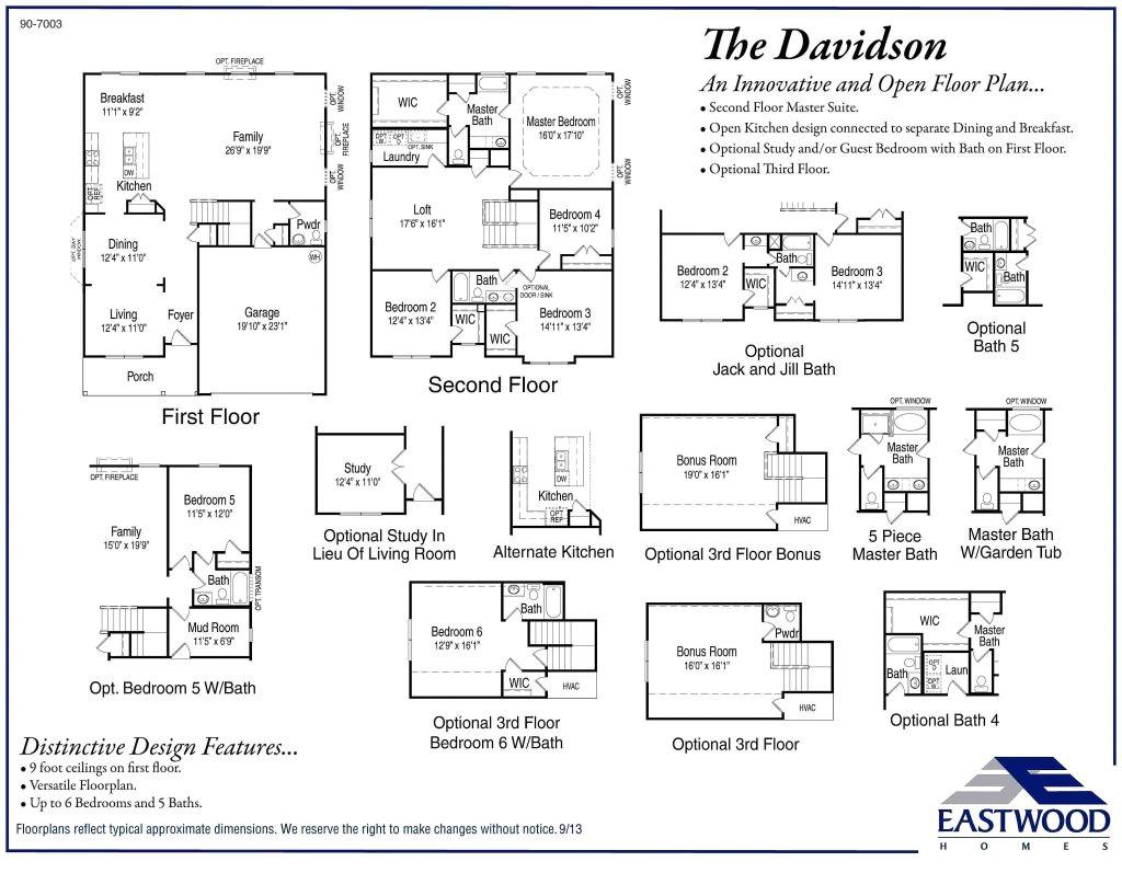eastwood homes drexel floor plan