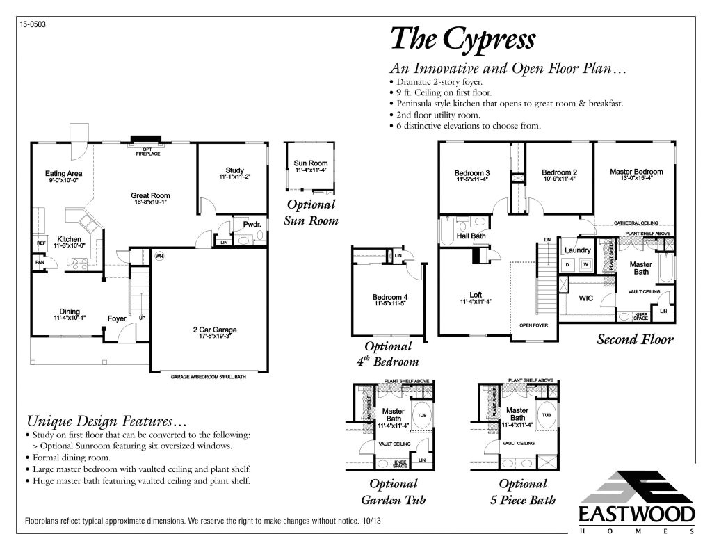 eastwood homes floor plans beautiful cypress eastwood homes