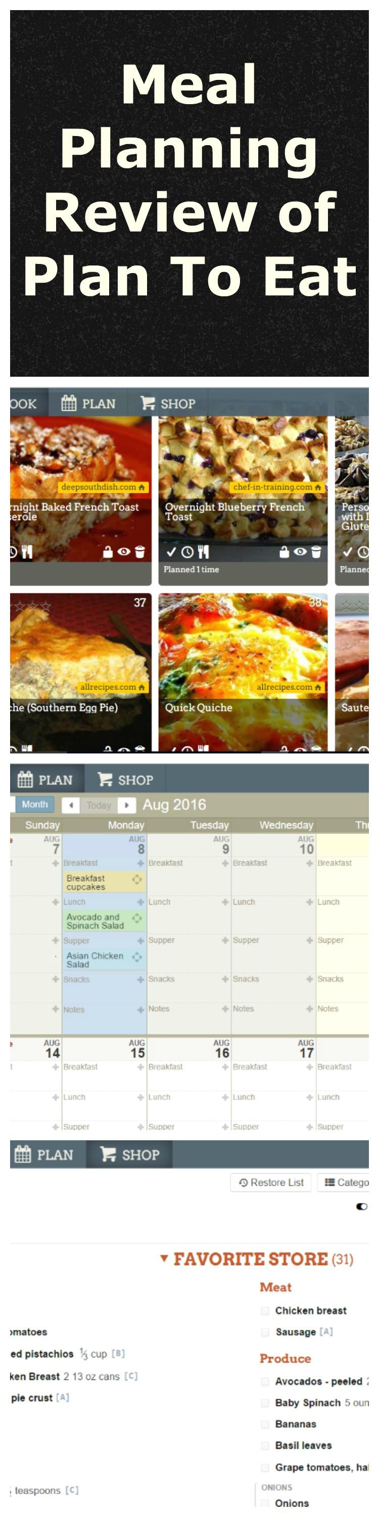 meal planning app review plan eat