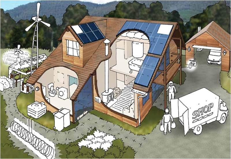 10 eco friendly houses