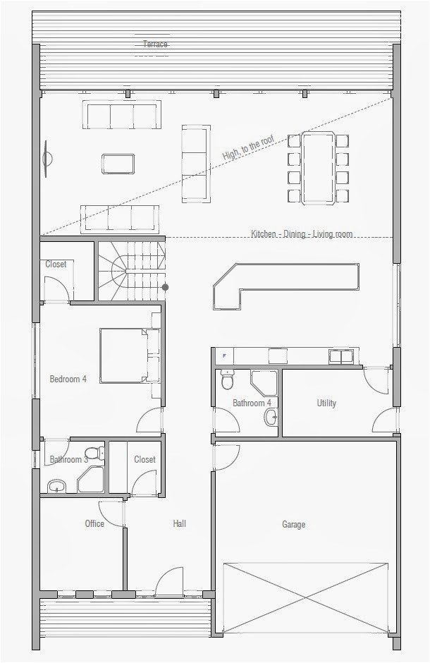 affordable home plan ch190