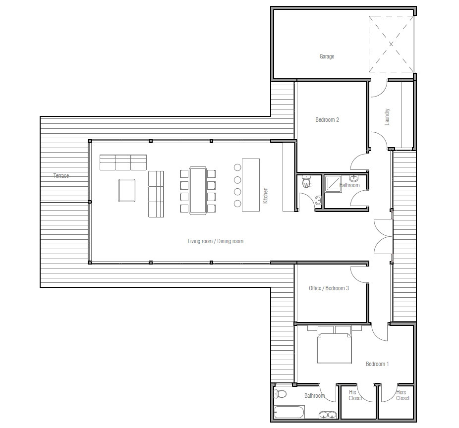 economical house plan ch164