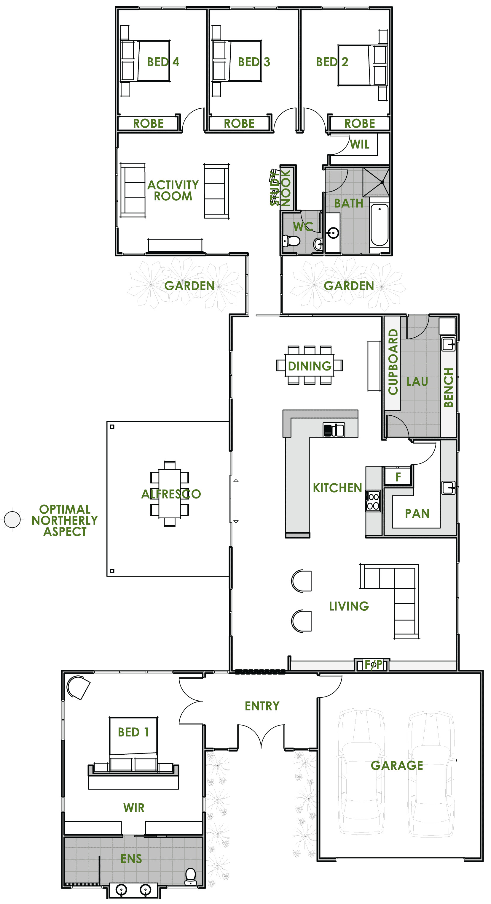 floor plan friday energy efficient home