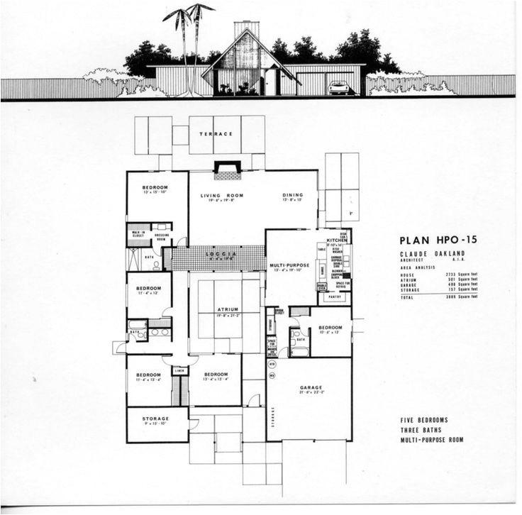 eichler houses mid century modern