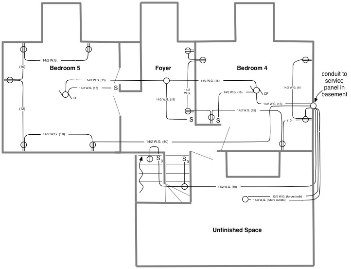 electrical house plans examples