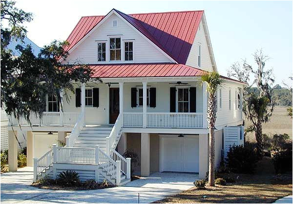 Elevated Home Plans Unique Elevated Home Plans 4 Low Country Cottage House